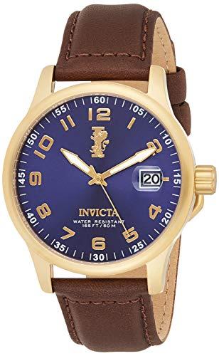 Reloj Invicta I-Force para Hombres 45mm, pulsera de Piel de Becerro
