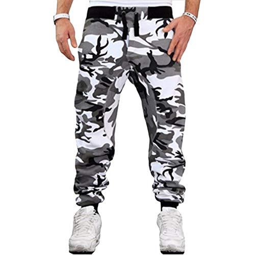 kunfang Männer Camouflage Hosen Jungs Jungen Casual Sporthosen Männliche Ganzkörperansicht Fitness Sport Hip Hop Casual Army Jogging Hosen