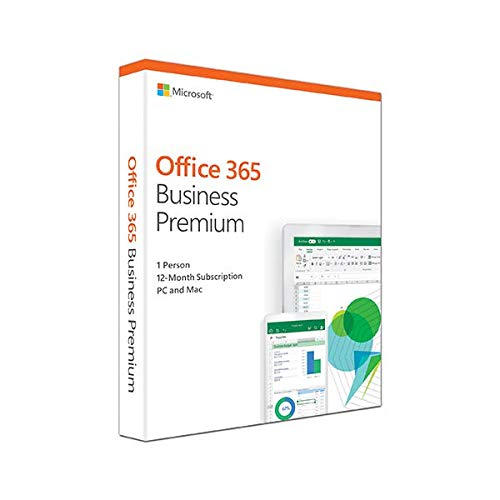 Microsoft KLQ-00388 Office 365, Business Premium E, 2018