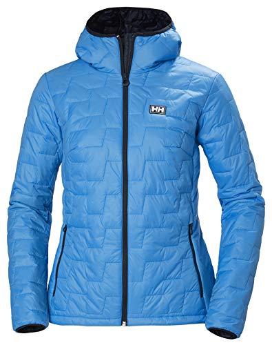 Helly-Hansen Women's LIFALOFT Hooded Insulator Jacket, 628 Bluebell, X-Large