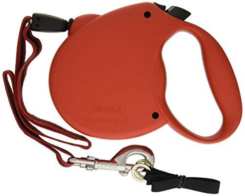 Flexi Guinzaglio Avvolgibile a corda Standard Misura L 5 m peso massimo 50 kg Perro Correa retráctil Negro - Correas para mascotas (Perro, Correa retráctil, Negro, Cable, 50 kg, Monótono)