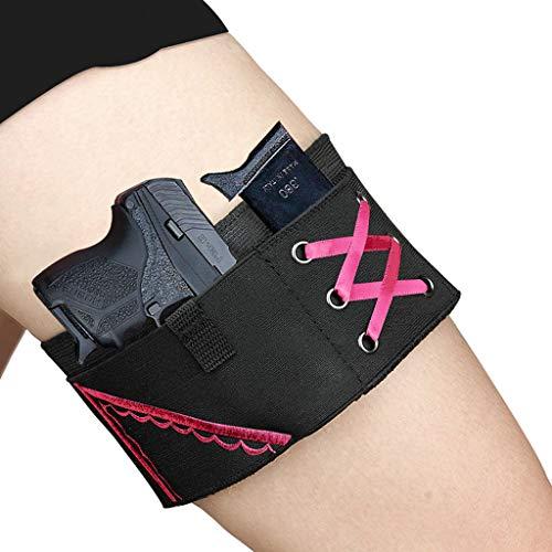 AJDGL Funda de Pistola Oculta táctica multifunción para Mujeres, Fundas de Pistola portátiles Ajustables Izquierda Derecha Derecha Adecuado para la mayoría de Las Pistolas