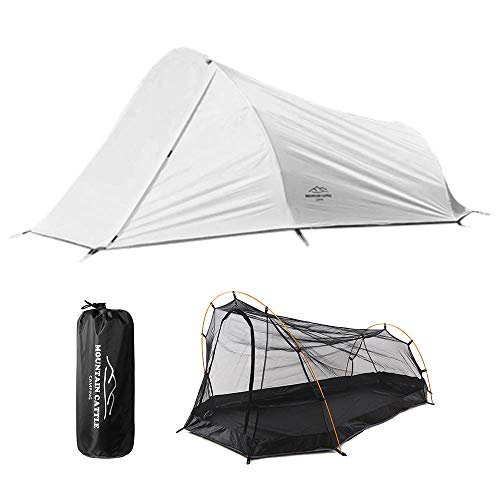 peipei Camping Tent Tents Dome Tent Outdoor Pop Up Gazebo UV Protected Family Camping Tents 210D oxford Tent With Free Handbag for Hiking Travelling-Grey