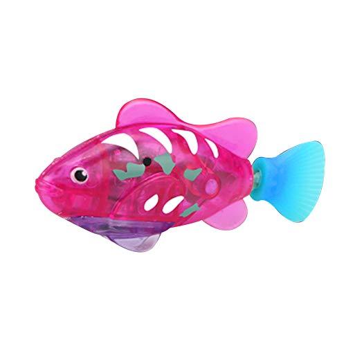 Elektrisches Schwimmen Fisch, Wasser Magisches Elektronisches Spielzeug-Kind-Kind-Geschenk, Mini Naturgetreue Roboter Fisch, Wasserbatteriebetriebe Fisch
