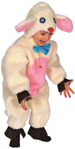 Rio - 103351/tg01 - Costume Enfant - Le Petit Mouton En Peluche - 2-3 Ans