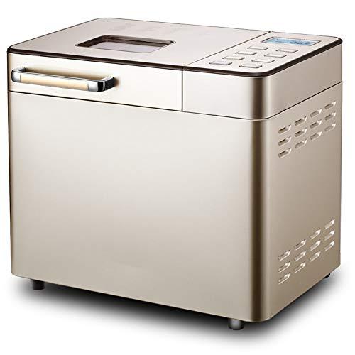 Broodmachine, broodbakmachine, touchscreen, 800 W, LCD-display, 6 zijbanden, 25 menu's, stad, automatische vruchting, isolatie van 60 minuten.