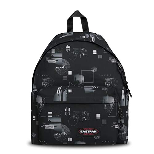 Eastpak Padded Pak'r Zaino, 40 cm, 24 L, Nero (Shapes Black)