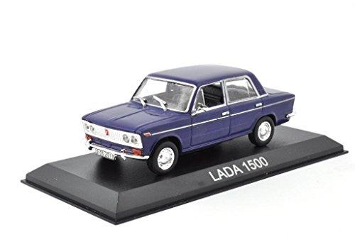 DieCast Metall Modellauto 1:43 Russischer Lada 1500 Limousine dunkelblau