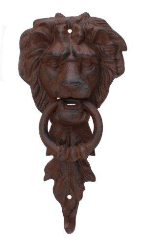 Large Iron Lion Head Doorknocker MGS