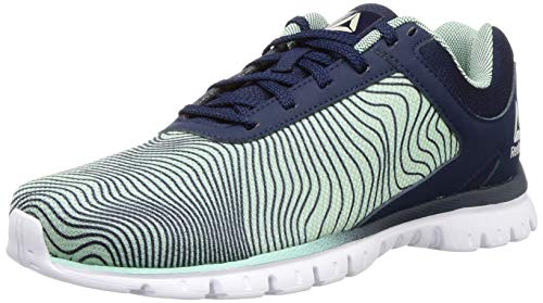 Reebok Men Repechage Collegiate Navy/Green Running Shoes-6 UK (DV8414)
