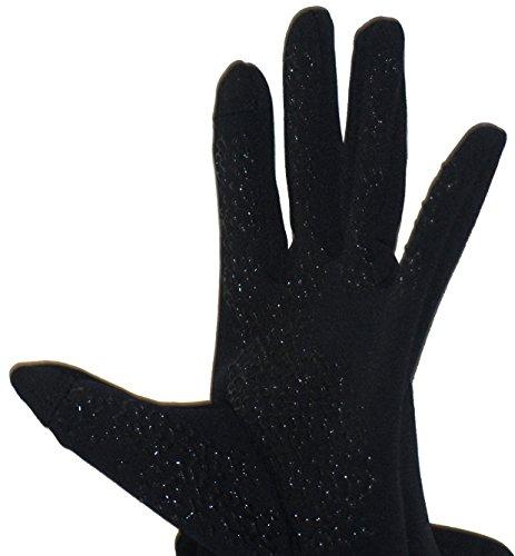 HEAD Sensatec Touchscreen Ladies Digital Running Gloves (Small, Black) Indiana