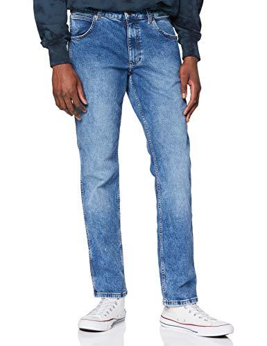Wrangler Greensboro Jeans, More Blues, 42W x 32L Uomo