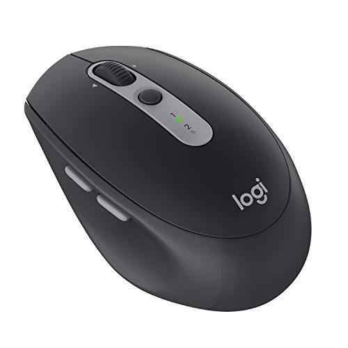 Logitech Silent M590 - Ratón inalámbrico (con Bluetooth, para varios dispositivos para Windows/Mac), color grafito negro