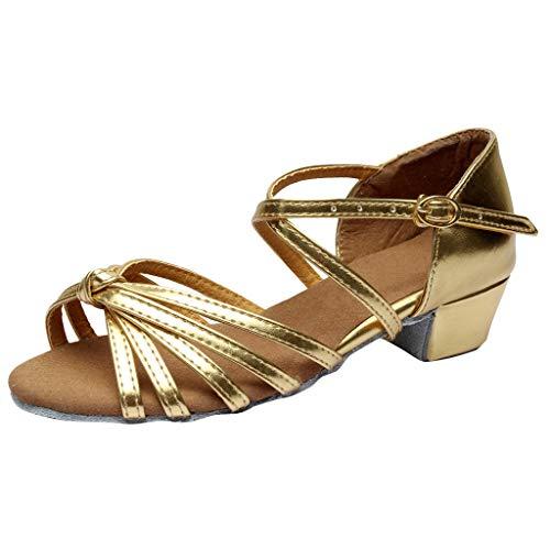 KERULA Sandalen Damen Absatz, Tanzen Rumba Waltz Prom Ballsaal Latin Dance Tanzschuhe Pumps Damenschuhe Shoes Sandaletten Schuhe