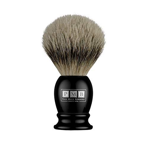 The Mayfair Blaireau en poils de blaireau doux en résine noire