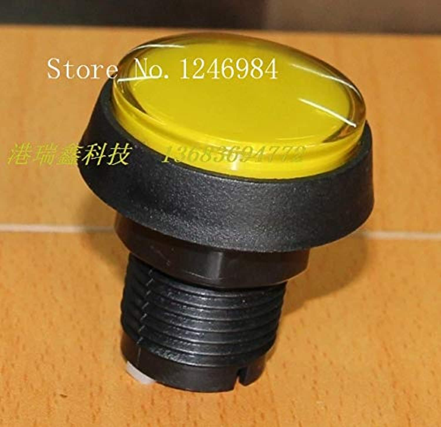 [SA]Video Game Console Accessories Button Buttons Yellow Circle Hypotenuse mainframe Computer Switch button-20pcs lot
