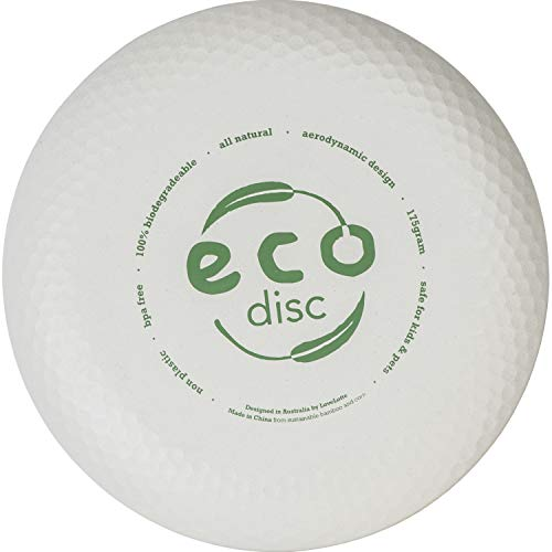 LoveLotte Eco Disc Biodegradable Bamboo Frisbee 175g  Durable Frisbees for Frisbee Golf Game Play Accuracy Close to MidRange and Ultimate Frisbee