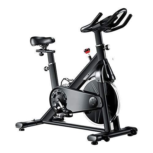 WGFGXQ Bicicleta estática Ultra silenciosa Inteligente para el hogar Bicicleta estática con Resistencia magnética Bicicleta estática con Pantalla y Soporte Adecuada para familias con Ejercicio aeró