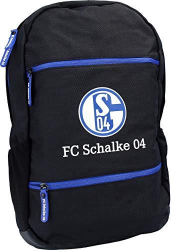 FC Schalke 04 Rucksack schwarz 39,5 x 28 x 12 cm