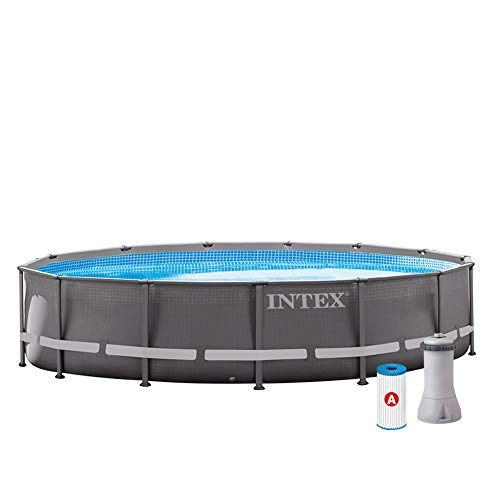 PISCINA DESMONTABLE INTEX ULTRA FRAME 28310GN| Diseño agradable y espaciosa