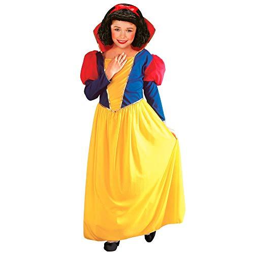 Widmann 38529 - Kinderkostüm Märchenprinzessin, Kleid mit Kragen, Fasching, Karneval, Mottoparty