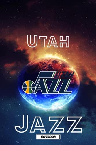 NFL Notebook Utah Jazz Sport Notebook With Logo Team NFL NBA MLB NHL