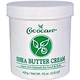 CocoCare Products Shea Butter Super-Rich Formula Cream - 15 oz, 2 pack