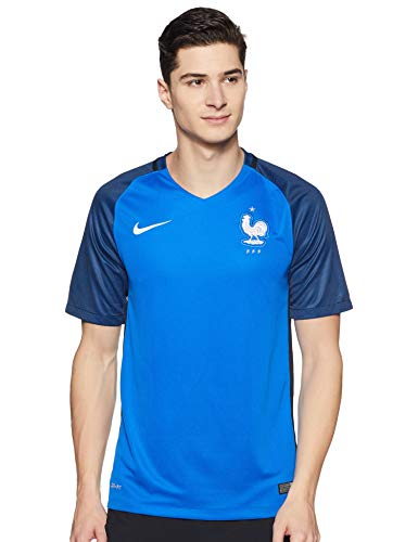 Nike Herren Trikot France Home Stadium Jersey, hyper cobalt/White, XXL