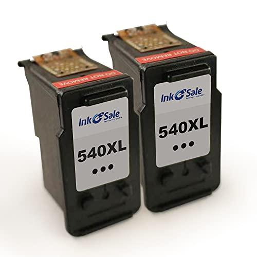 Ink E-Sale Wiederaufbereitete PG-540XL CL-541XL Druckerpatrone für Canon Druckerpatronen 540 541 Kompatibel mit Pixma MX475 MX525 MX535 MX395 MX515 MG4250 MG3250 TS5150 TS5151,1 Schwarz 1 Farbe