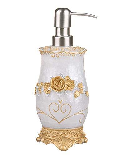 Salle de bains Bouteille Creative Distributeur de savon Lotion [Blanc 01]