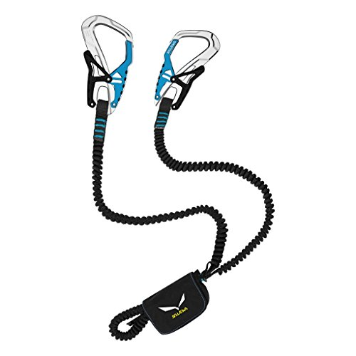 Salewa Klettersteigset Set Via Ferrata Ergo Tex, Black/Blue, One Size