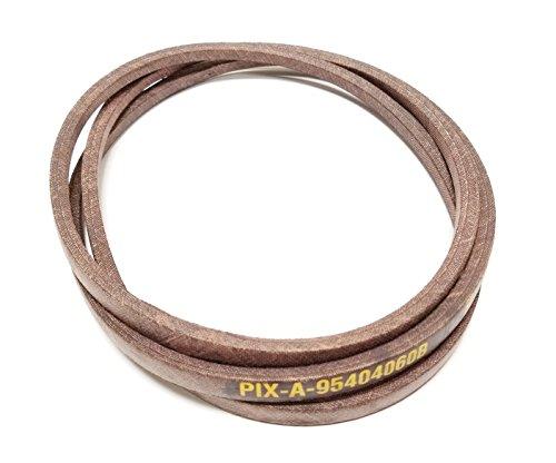 Belt Made with Kevlar Compatible with: Belt 754-04060, 954-04060, 954-04060A, 754-04060A, 954-04060B, 754-04060B MTD Cub Cadet Bolens Troy-Bilt Huskee Columbia White, Yard-Machine