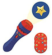 LEXIBOOK LTC050NI Super Brothers Mario Nintendo, Flashlight and Projector with 3 Discs, 24 Images, C...