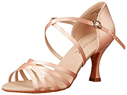 Capezio Women's SD02 Rosa 2.5-inch Flared-Heel Sandals