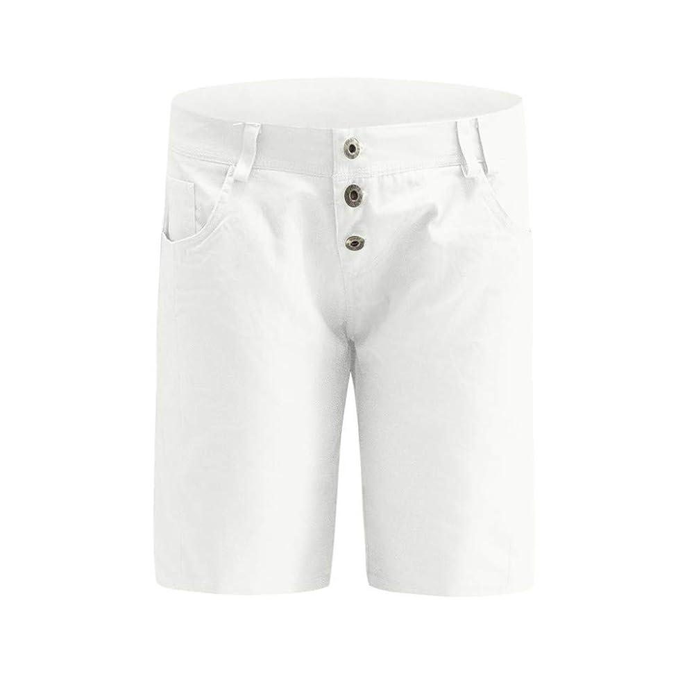 政権検出達成レンコス(Lemcos) ショートパンツ デニム ダメージ加工 ハイウエスト カットオフ クラッシュ ジーンズ パンツ レディース 女性のためのデニムショートパンツジーンズは裾ホットショートパンツカジュアルをリッピング