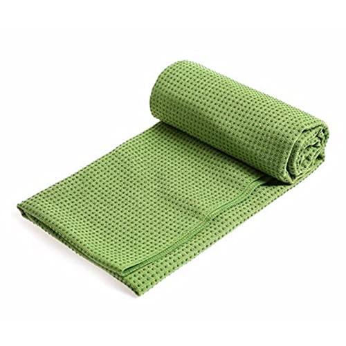 SSDT Toalla de yoga antideslizante de microfibra para esterilla de yoga, pilates, fitness, accesorios de entrenamiento