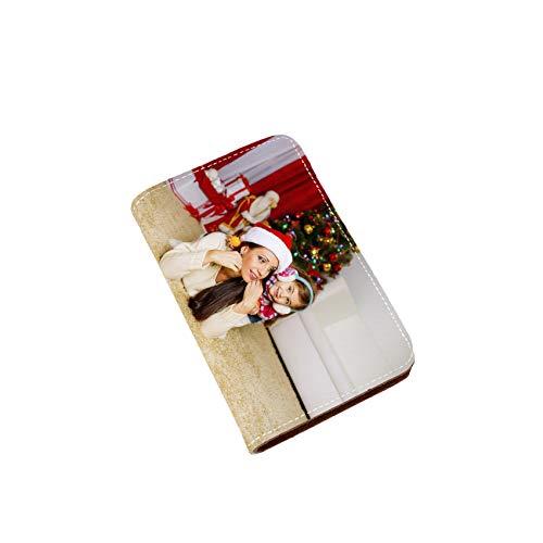 Personalisierte Foto Nagelknipser Kit Nagelknipser Tasche Bildern Leder Nagelknipser Kombitasche Geburtstagsgeschenk für Frauen(Stil 1 Einseitig)