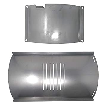 Pit Boss Flame Broiler Slide Cover and Bottom Kit Compatible with 700 Series Pellet Grills