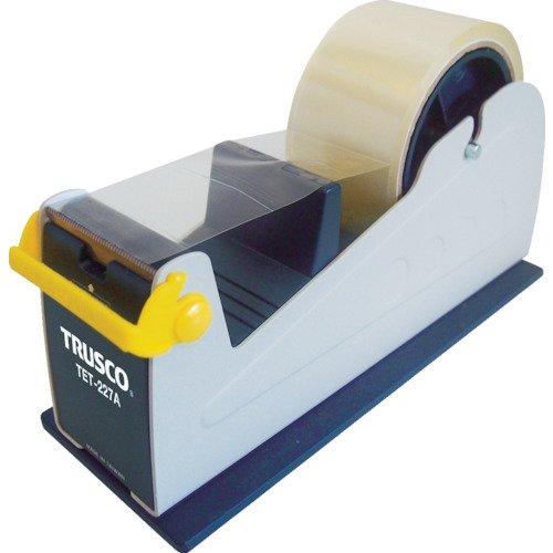 TRUSCO(トラスコ) テープカッター (スチール製) 最大テープ幅50mm TET-227A