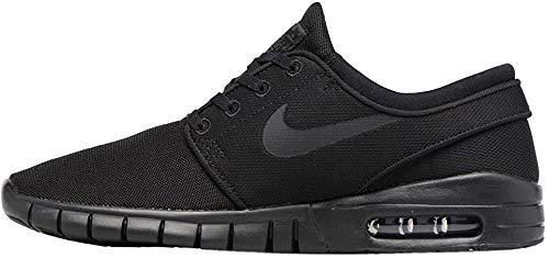 Nike Stefan Janoski Max (GS), Jungen Sneaker, Schwarz (Black/ Black-Black), 35.5 EU