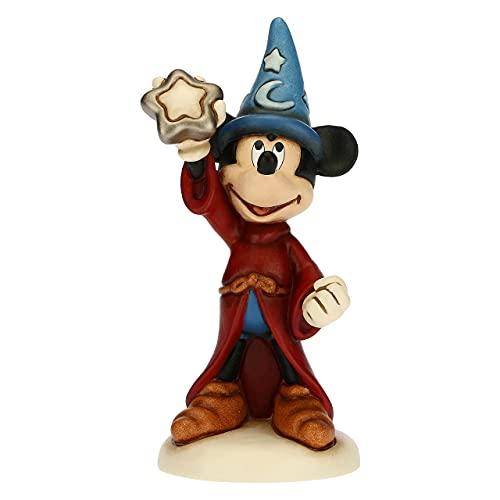 THUN - Mickey Mouse con Stella Magica - Formato Maxi - Living, Icone - Idea Regalo - Linea Disney Fantasia - Ceramica - 20x16,8x36,5 cm h