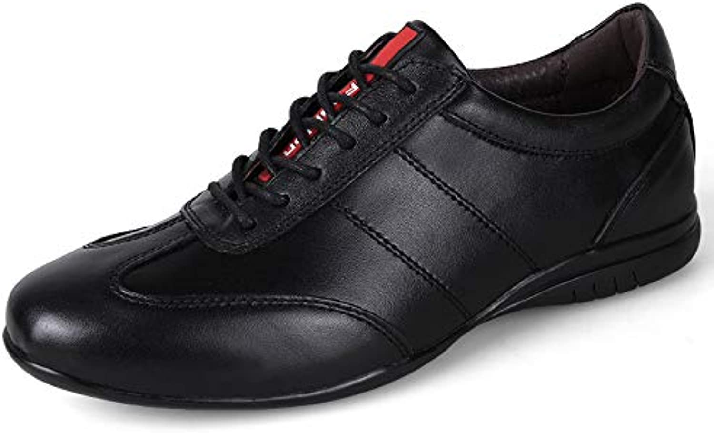 LOVDRAM Men'S Leather shoes Leather Men'S Casual shoes Driving shoes Leather Men'S shoes