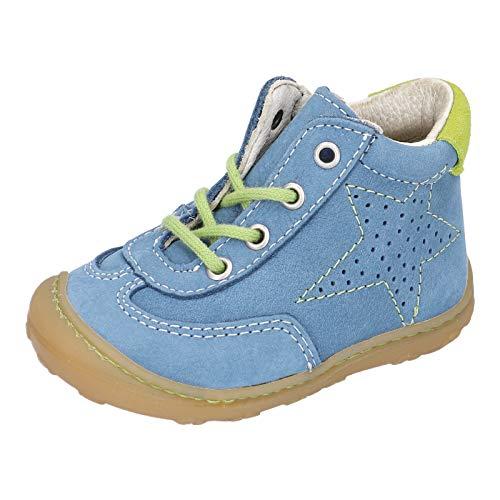 RICOSTA Jungen Lauflern Schuhe SAMI von Pepino, Weite: Mittel (WMS),terracare, Kids Jungen Kinderschuhe toben Spielen verspielt,Jeans,23 EU / 6 Child UK