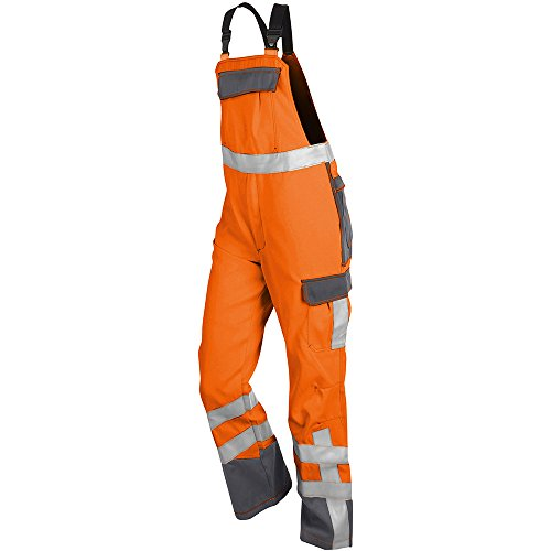 Kübler 37808420-3797-94 Arbeitslatzhose Psa Safety X, warnorange/anthrazit, 94