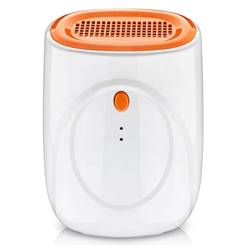 Fantastic Prices! White Household Mini Dehumidifier Moisture Absorber 100V-240V Dehumidifiers Wardro...
