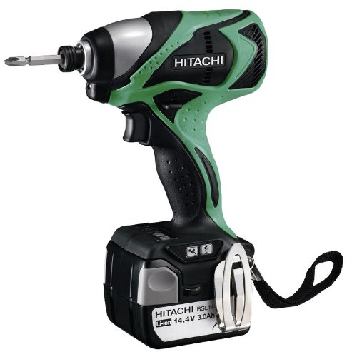 Hitachi WH14DBDL 3200bpm Lithium-Ion (Li-Ion) 1600g Cordless Rotary Hammer–Akku Bohrhammer (Lithium-Ion (Li-Ion), 14.4V, 1.6kg, 157mm, Black, Green)