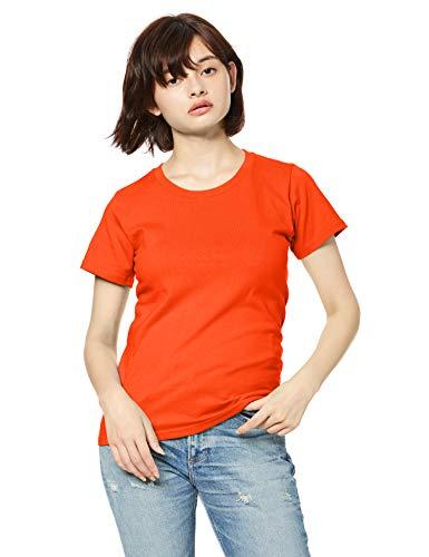 Printstar プリントスター 半袖 5.6オンス へヴィー ウェイト Tシャツ 00085-CVT ディープオレンジ WS 日本サイズレディースS相当