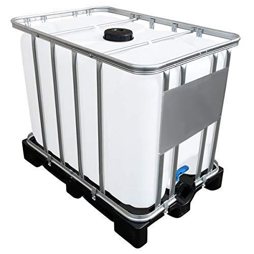 Werit 600l IBC Container auf PE-Palette NEU Deckelgröße DN 150,...