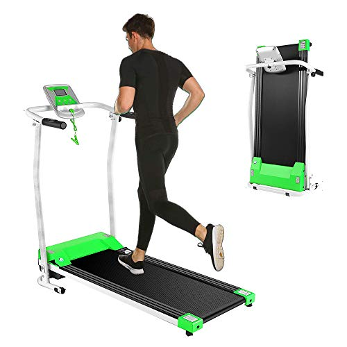 Kenchend Folding Treadmill, Auto Stop Safety Functioz Electric Treadmills for Home with...
