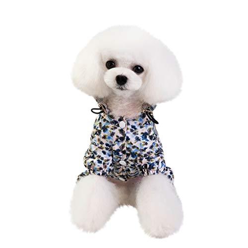 Sanahy Hundekleidung,Hundemantel Hundejacke Hundepullover Warm Winter Weste Mantel Hund Kostüme Haustier Kleidung